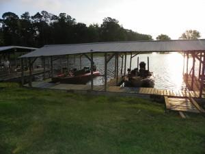 Covered Boat slips