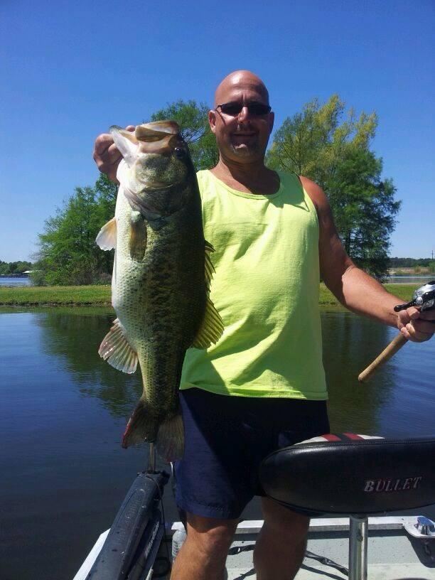 Caught big one 8.5 lbs